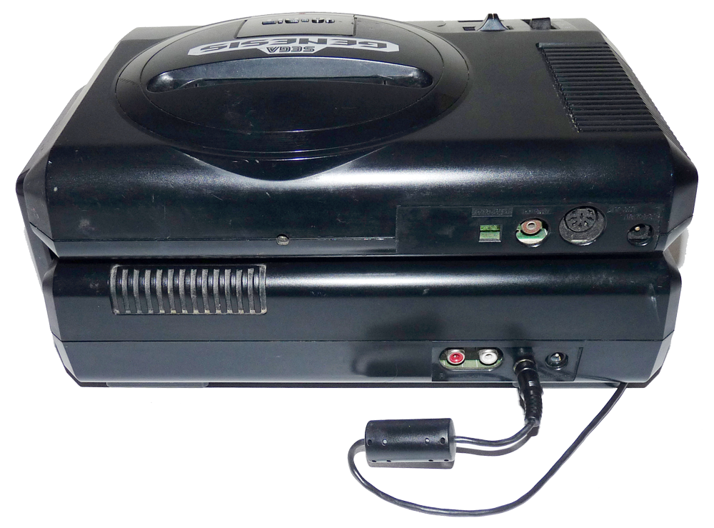 How To Connect Hook Up Sega 32x Sega Genesis Model 1 Sega