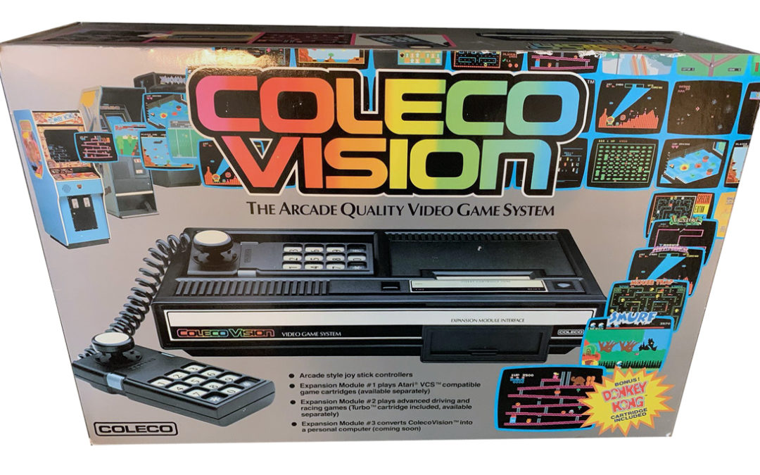 ColecoVision has arrived on Gametrog!