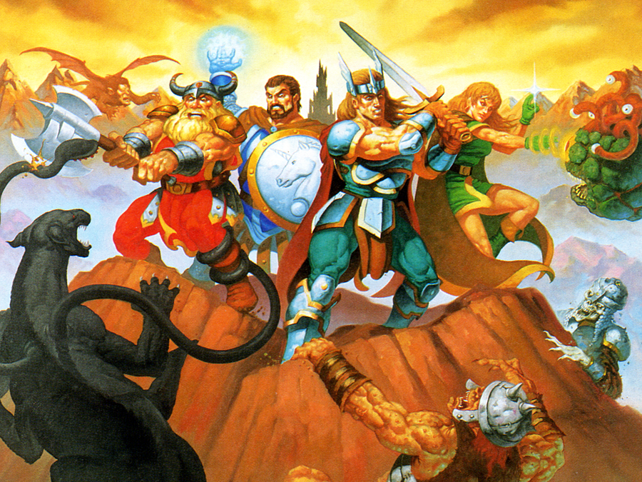 Dungeons & Dragons Collection – SEGA Saturn