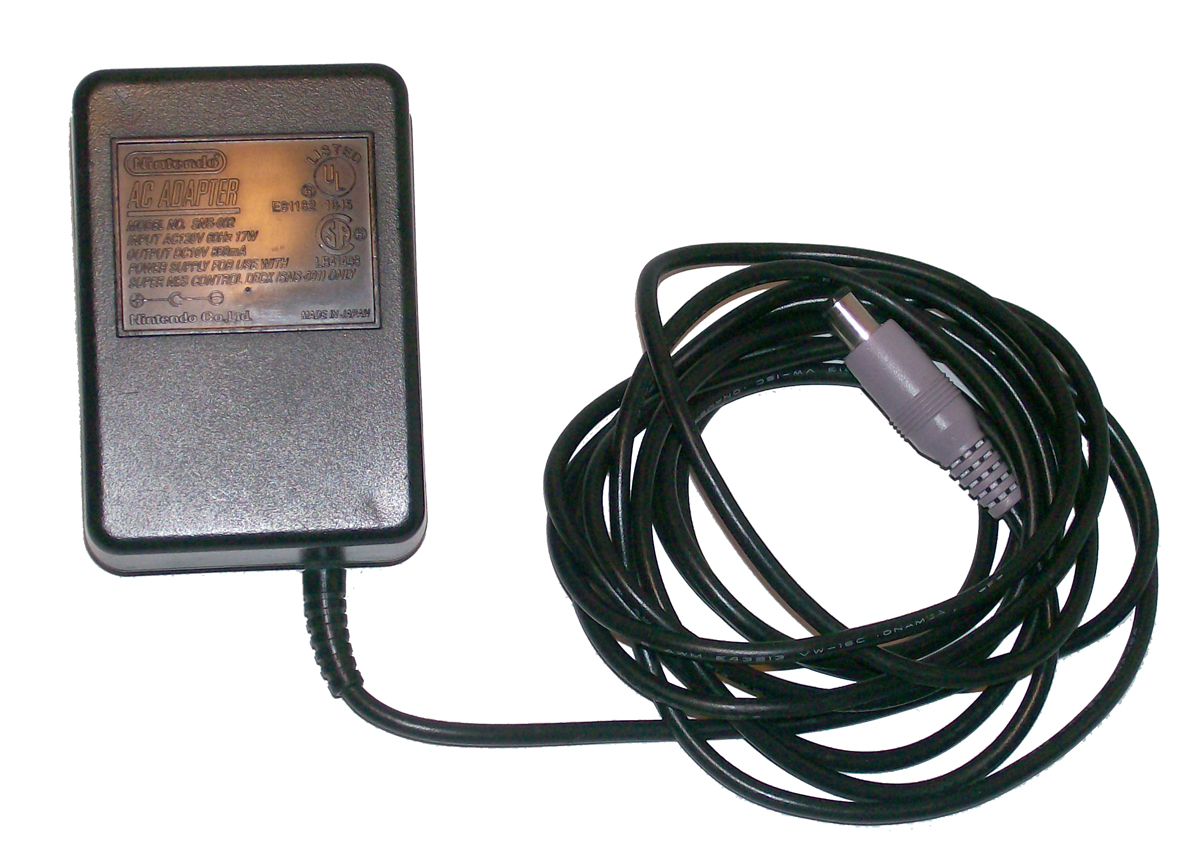 Power cord for snes