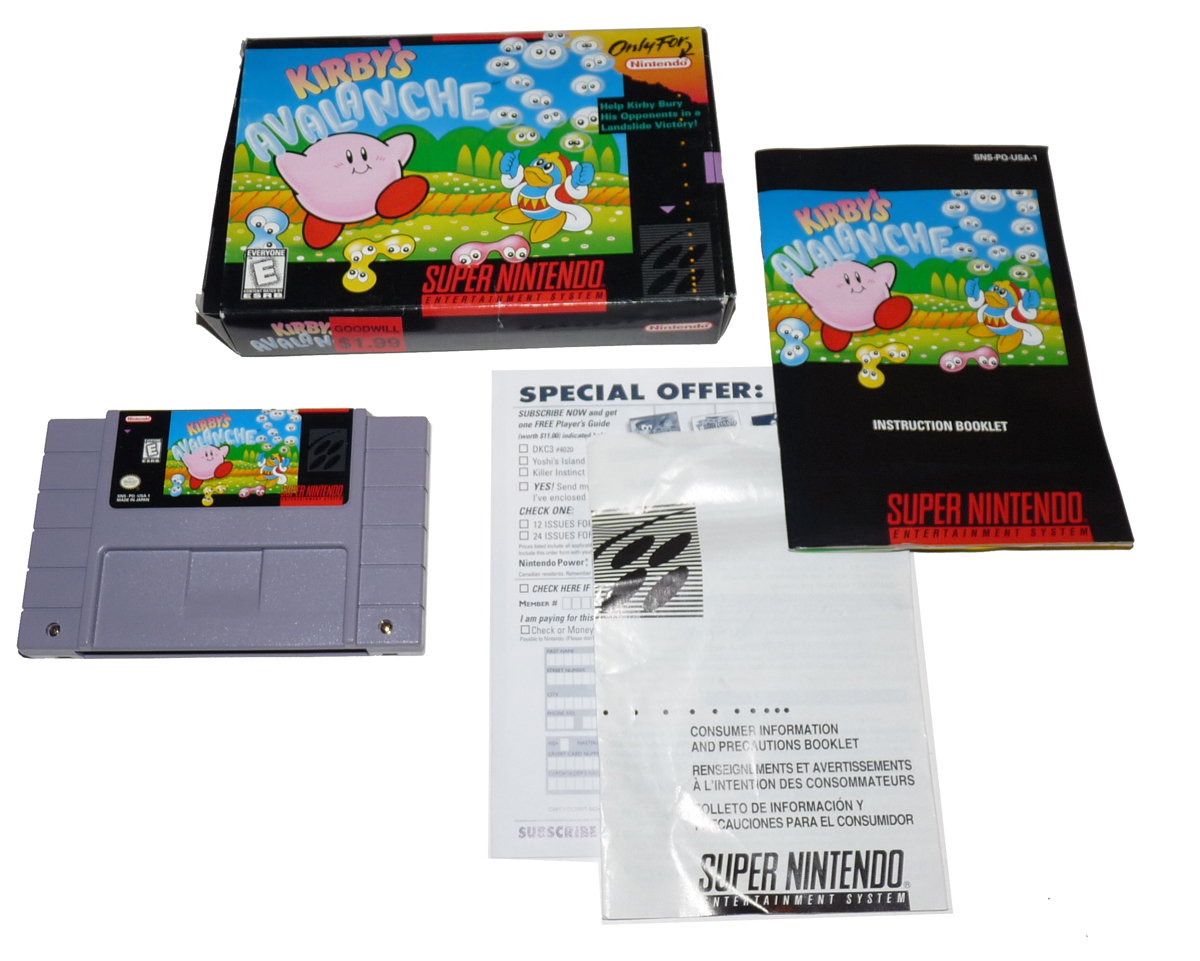 Super-Nintendo-SNES-Information-Specs — Gametrog