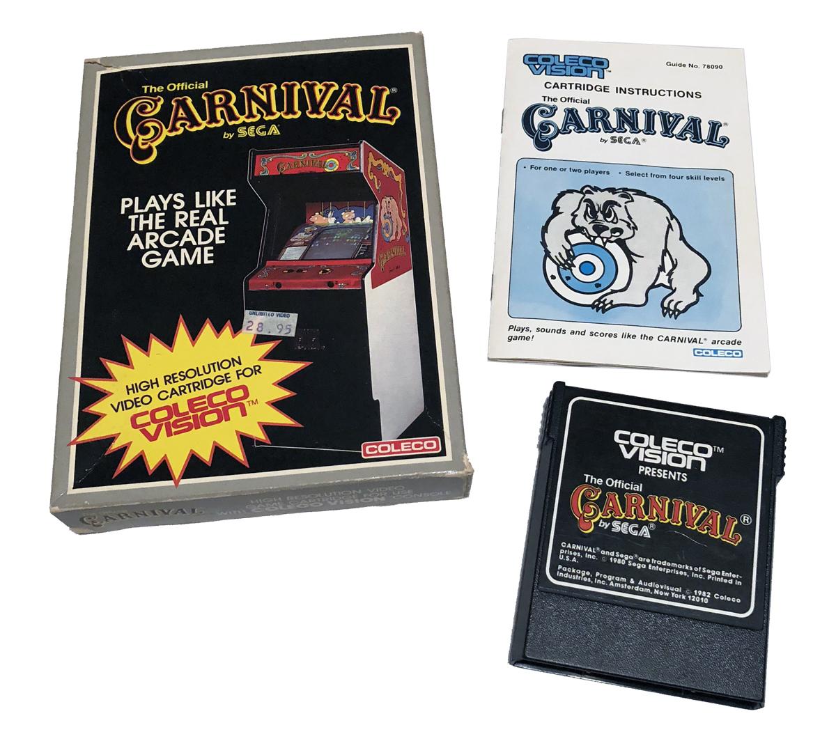Colecovision information specs — Gametrog
