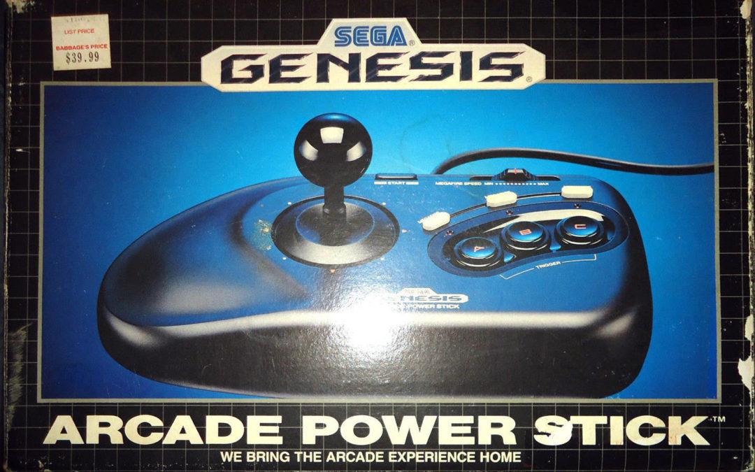 SEGA Genesis 3-Button Arcade Stick