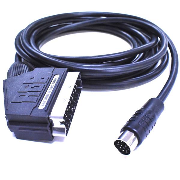 How Sega Av Audio Video Cable Rf Box Rca Composite S Video